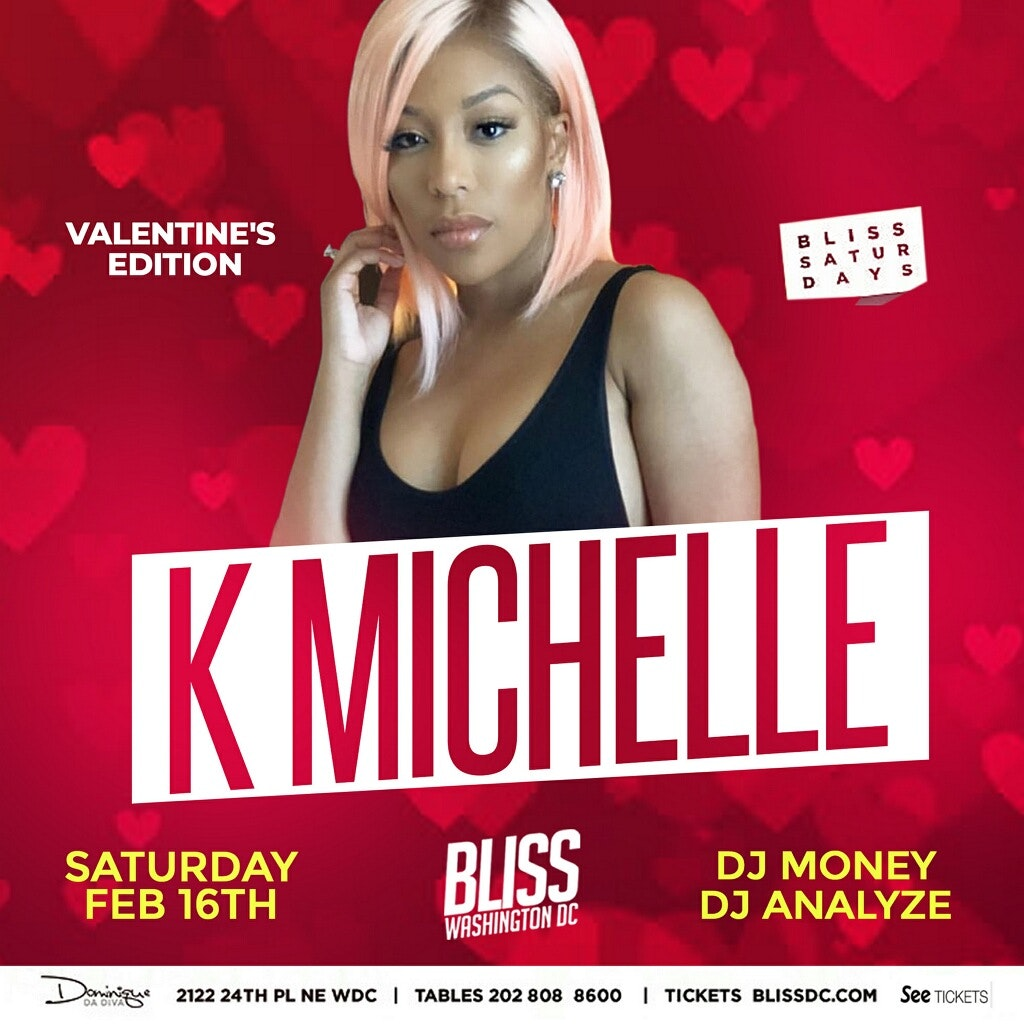 Washington, D.C. - K.MICHELLE AT BLISS @ Bliss DC