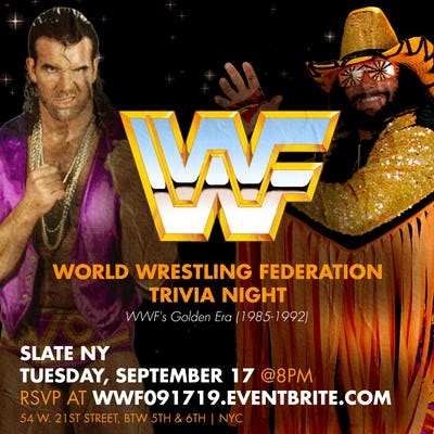 Tablelist | Buy Tickets and Tables to WWF (Golden Era 1985