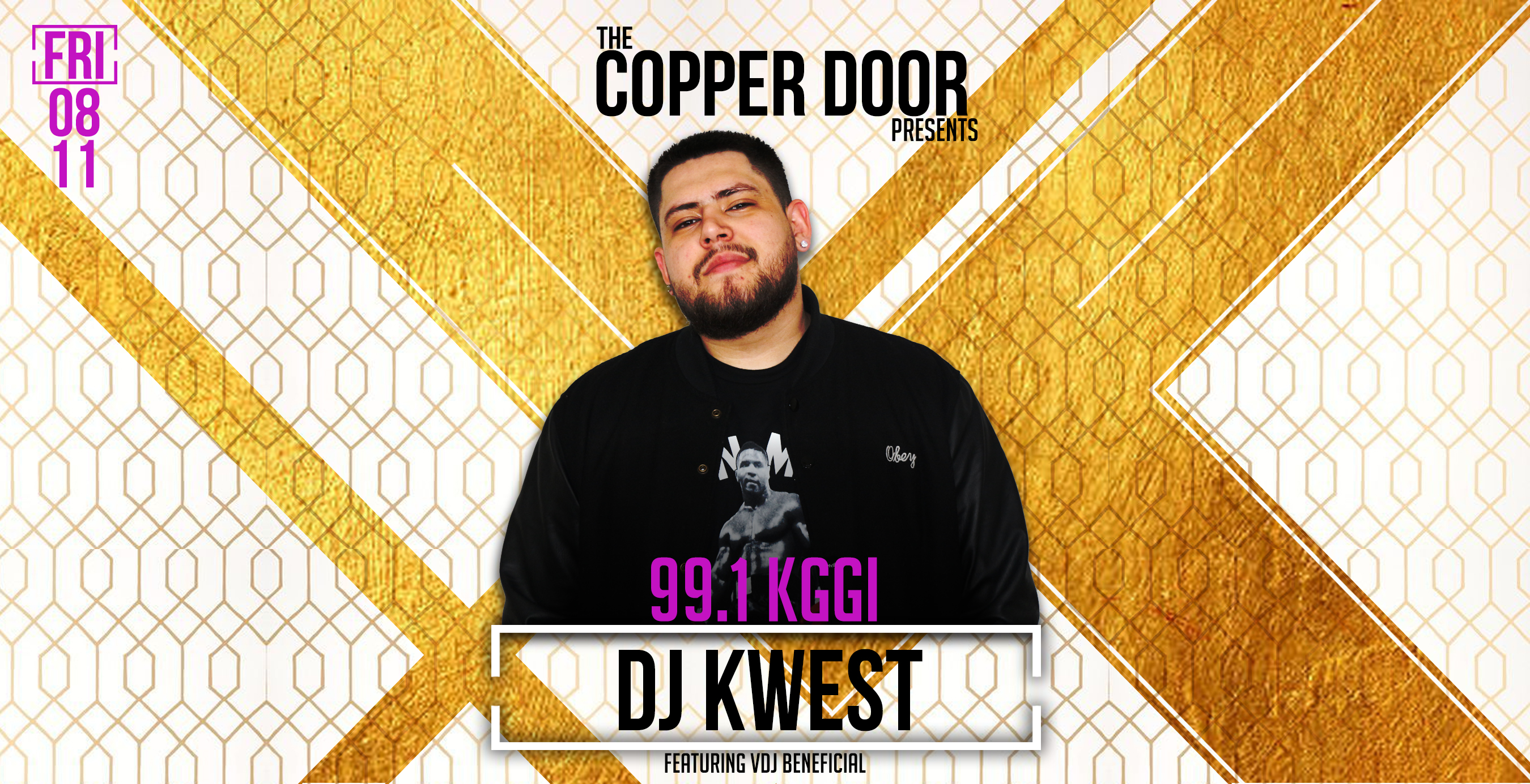 Friday Night Party With 991 KGGI DJ Kwest And Beneficial