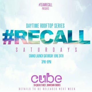 Recall Saturdays<br>Daytime Rooftop Series