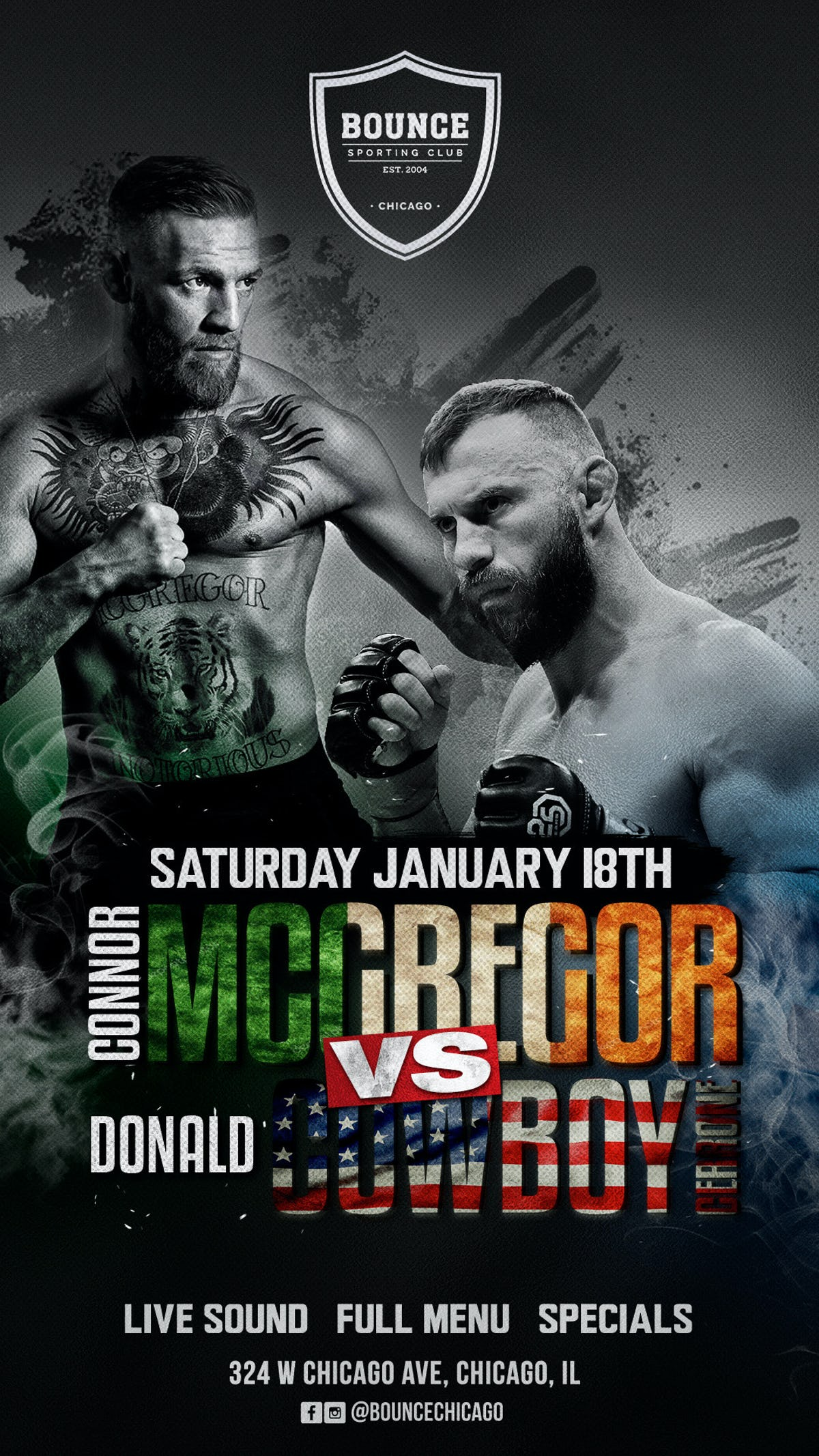 Tablelist Buy Tickets And Tables To Ufc 236 Mcgregor Vs