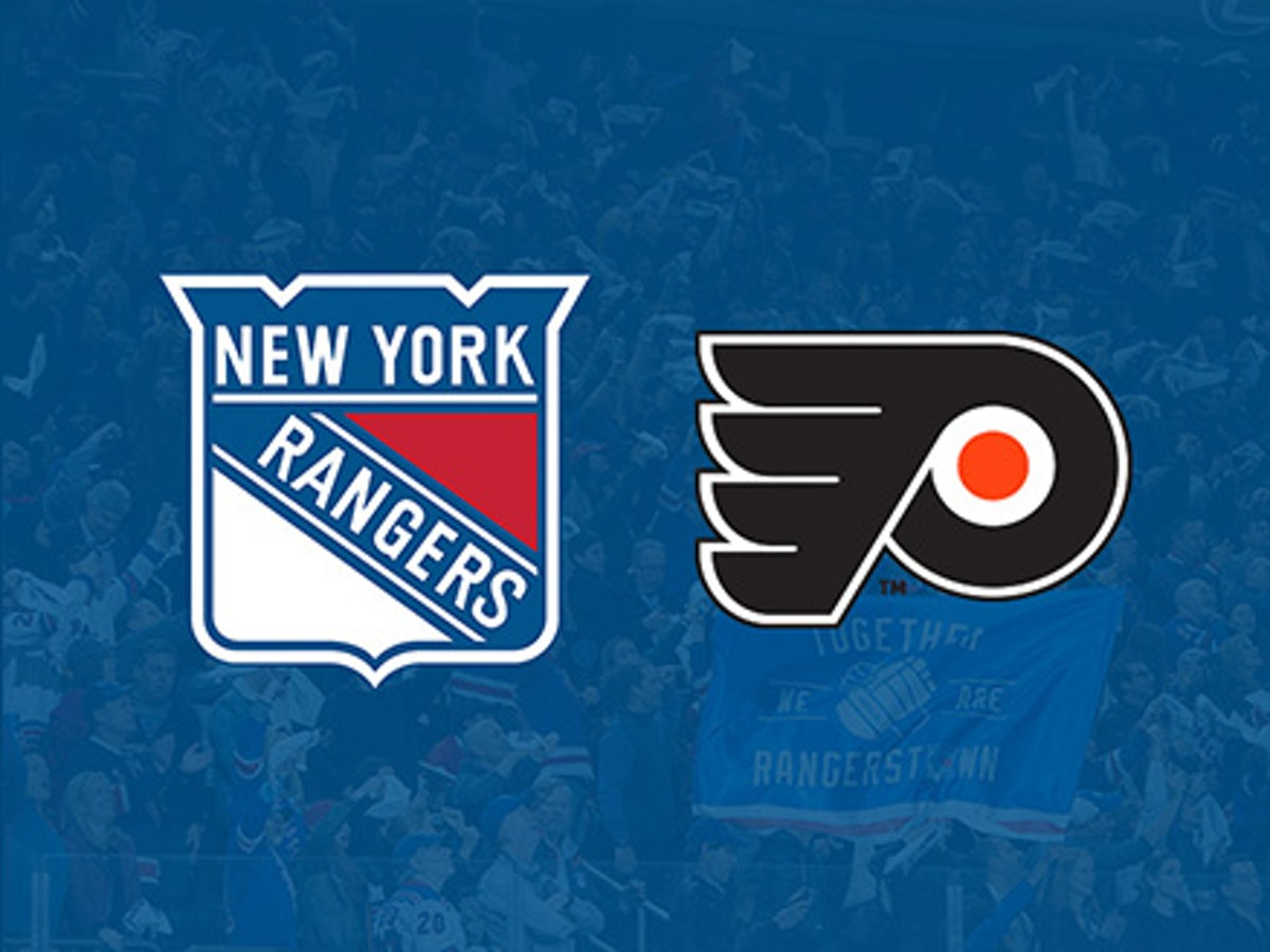 flyers v rangers tickets