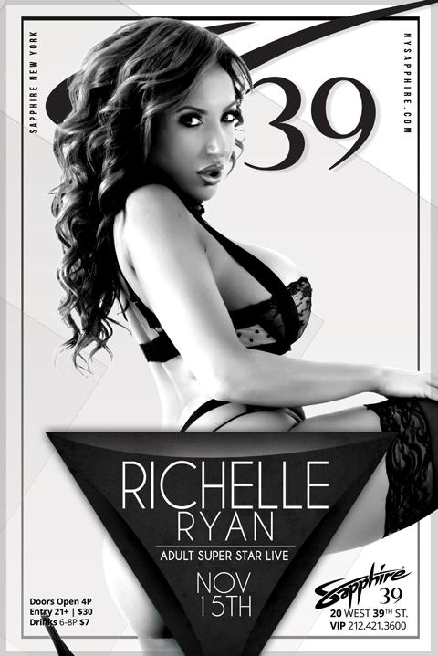 Richelle Ryan Thursday  At Sapphire 39