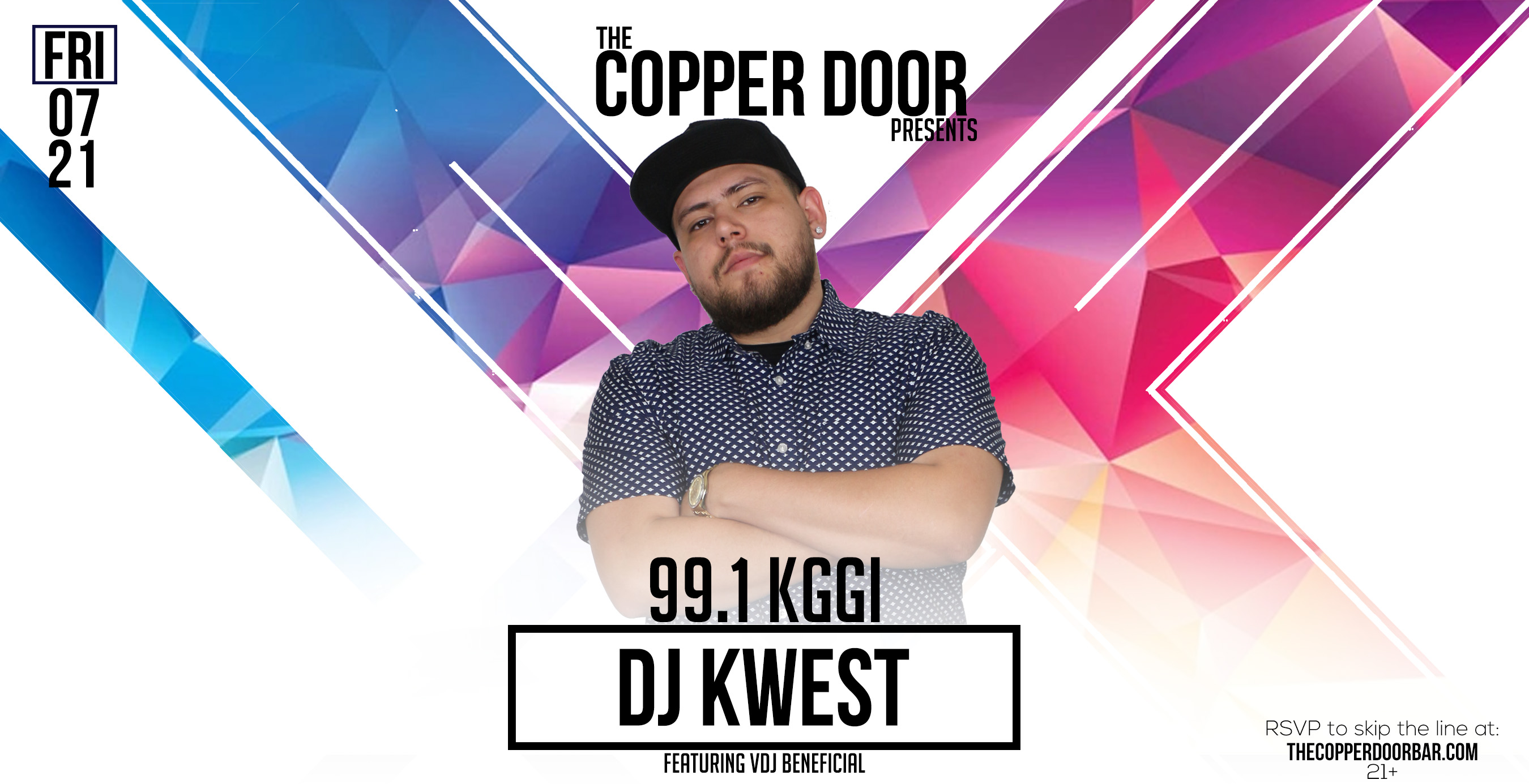 991 KGGI Summer Night Party With DJ Kwest And Beneficial