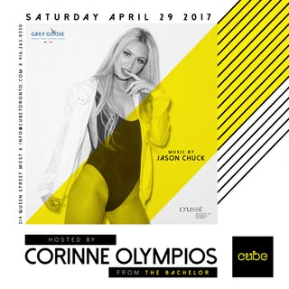 Saturdays<br> Hosted By<br> Corinne Olympios